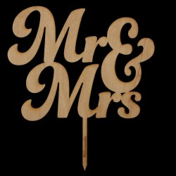 Mr und Mrs Typ 3 in Holz